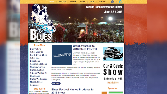 T-Bone Walker Blues Festival Looking for Volunteers