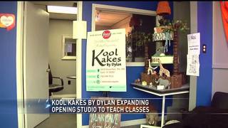 Kool Kakes by Dylan expanding to teach cake decorating classes