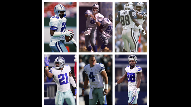 DALLAS COWBOYS: Revival of the triplets