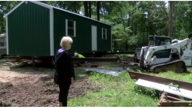 East Texas woman gets new home following 2016 flooding
