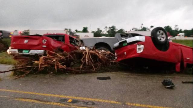 Photos Tornadoes Devastate East Texas Story Ketk And