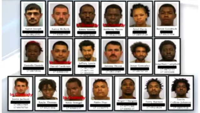 VIDEO: Texas police charge 19 suspected K2 dealers, confiscate hundreds of doses