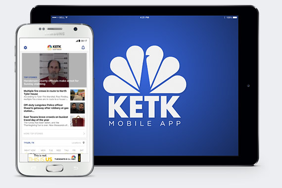 Get the KETK News EastTexasMatters App
