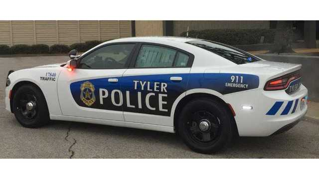 Tyler Police department rolls out new look for vehicles