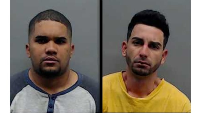 Two men arrested after card skimmers found at Bullard gas station