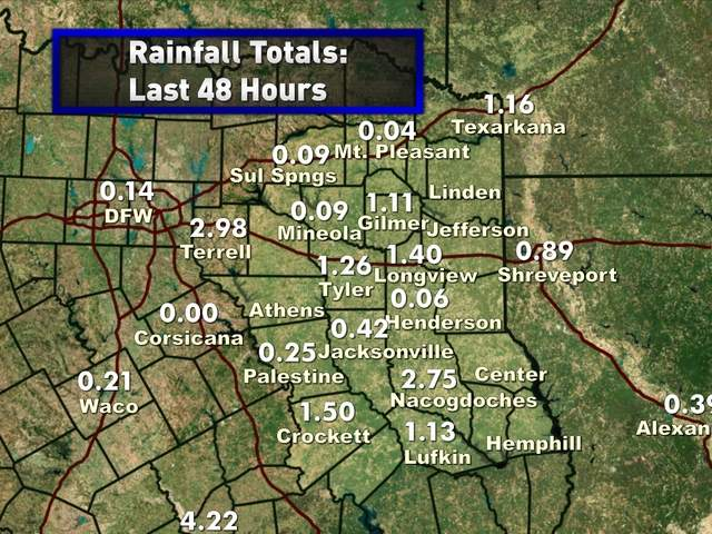 Rainfall 48 Hours