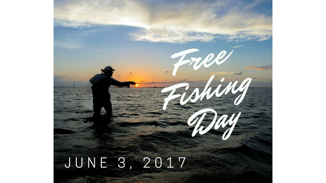 TPWD: Fish without license this weekend in Texas