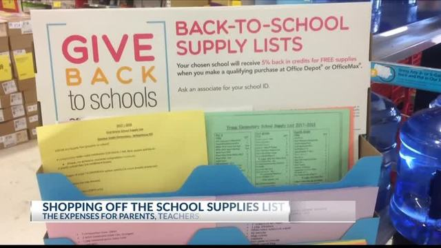 BACK TO SCHOOL: High expenses on parents and teachers