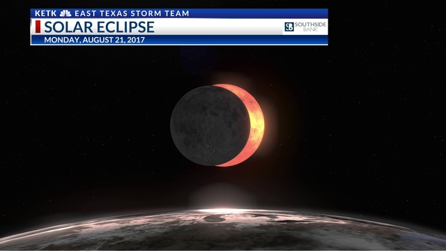 Solar eclipse in East Texas: the time it will happen on Monday