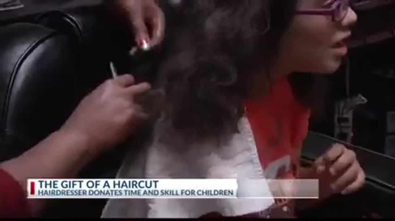 The Gift Of A Haircut