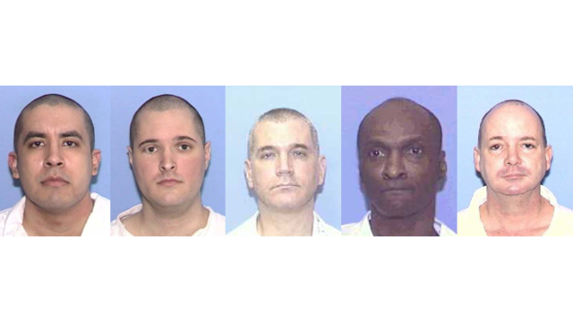 LIST: Texas executions schedul...