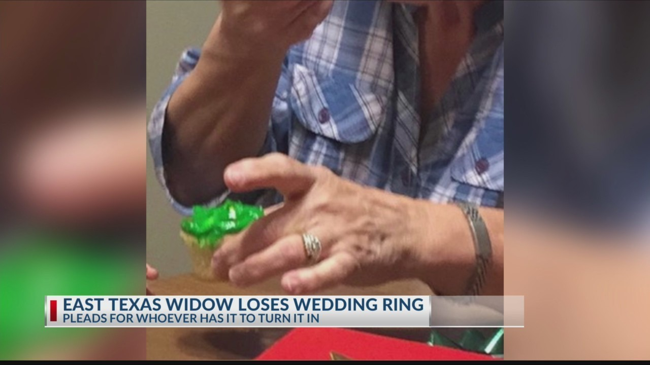 East Texas Widow Pleads For Return Of Lost Wedding Ring