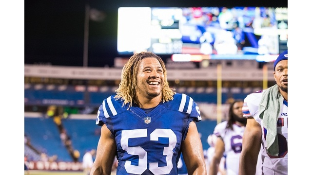 Colts' linebacker among 2 killed by alleged drunk driver