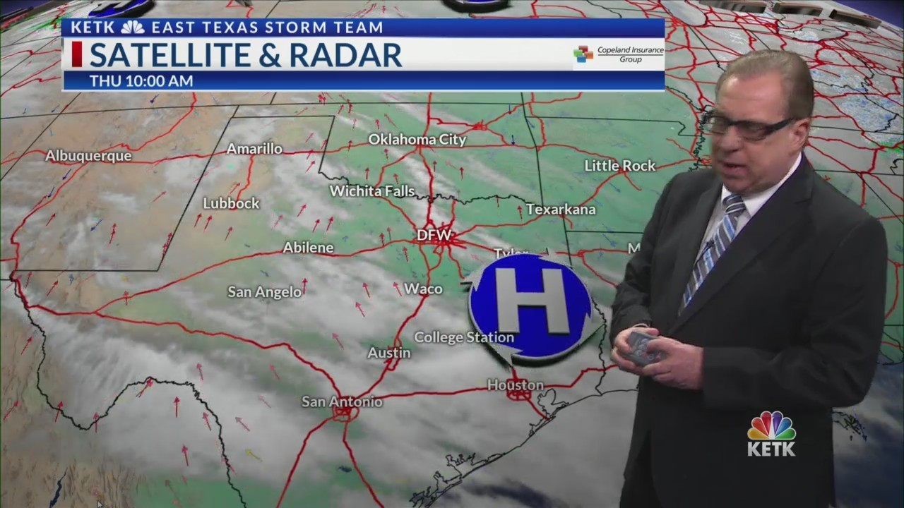 Thursday midday weather