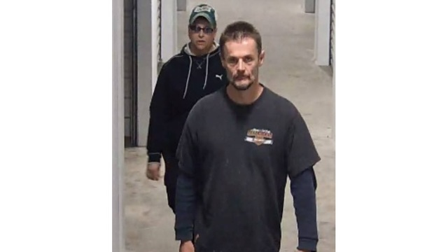2 people wanted in connection with warehouse burglary