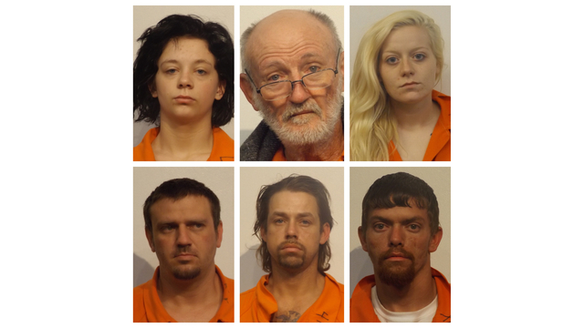 6 arrested in connection with string of burglaries