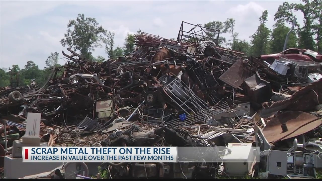 Scrap metal and copper wire thefts on the rise in East Texas