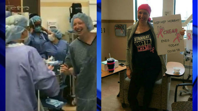 Video of mom dancing in operating room before mastectomy goes viral