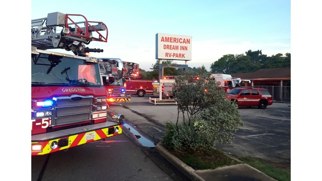 Fire extinguished at recently closed Longview motel