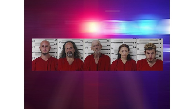 5 East Texans arrested in cross-county drug raids