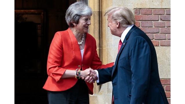 WATCH: President Trump, British PM May hold joint press conference