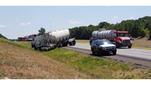 TRAFFIC ALERT: DPS on scene of tractor-trailer accident on I20