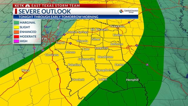 WEATHER ALERT: Scattered showers and storms today, some strong to severe