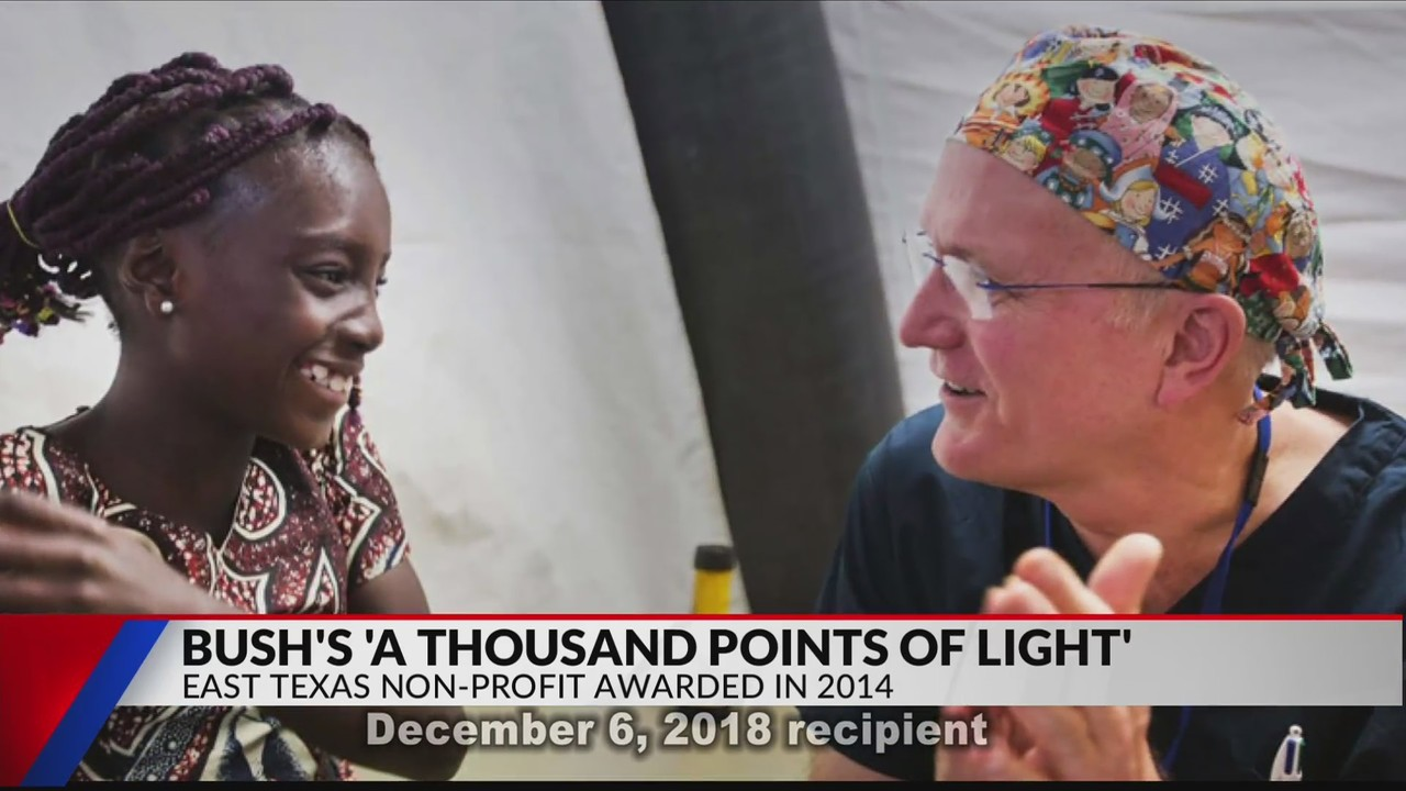 George H W Bush S Foundation Point Of Light Recognizes East Texans