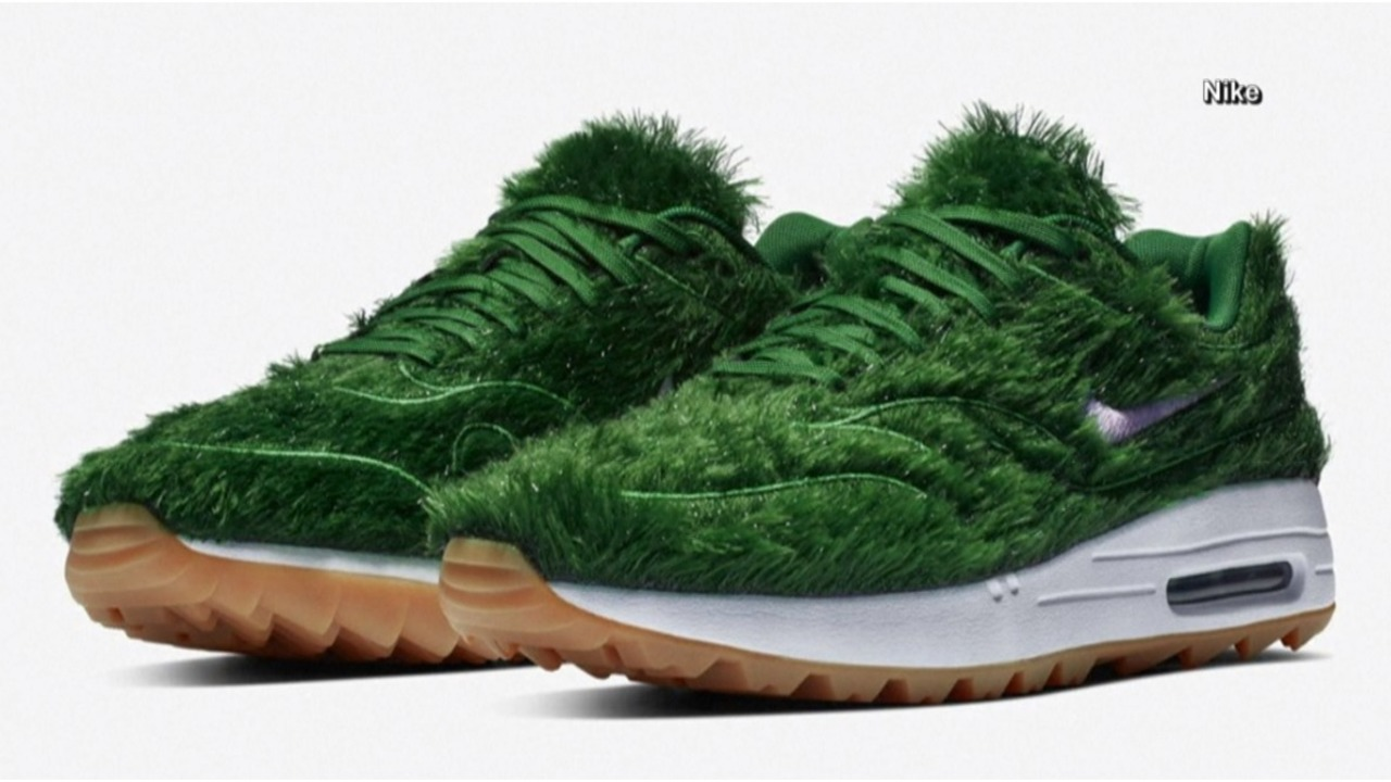 newest collection e1e13 68d35 Nike introduces grass golf shoes