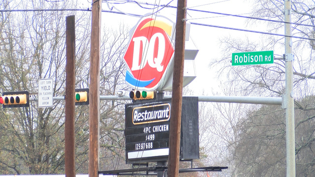 NOT THE BLIZZARDS! East Texas Dairy Queen robbed