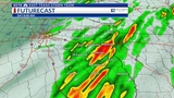 WEATHER ALERT: Gusty storms this morning, followed by PM sunshine
