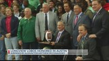 Longview football team honored at State Capitol&#x3b; Matthew McConaughey pays a visit