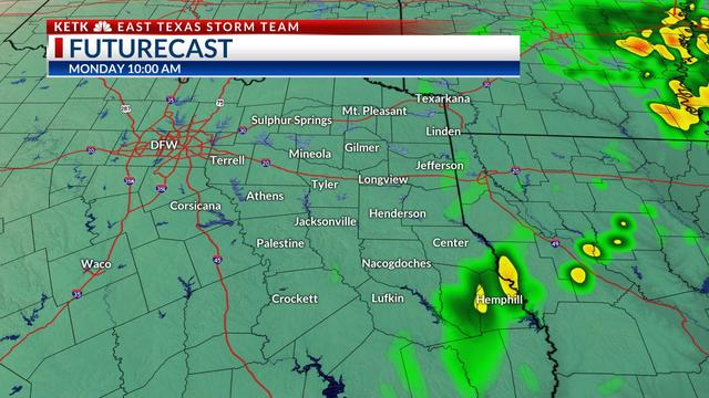Map Of Texas Storms.Weather Alert Strong To Severe Storms Will Return Again Sunday