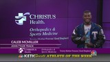 Caleb McMiller: CHRISTUS Health Orthopedics and Sports Medicine Athlete of the Week