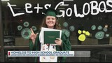 From homeless to high school graduate